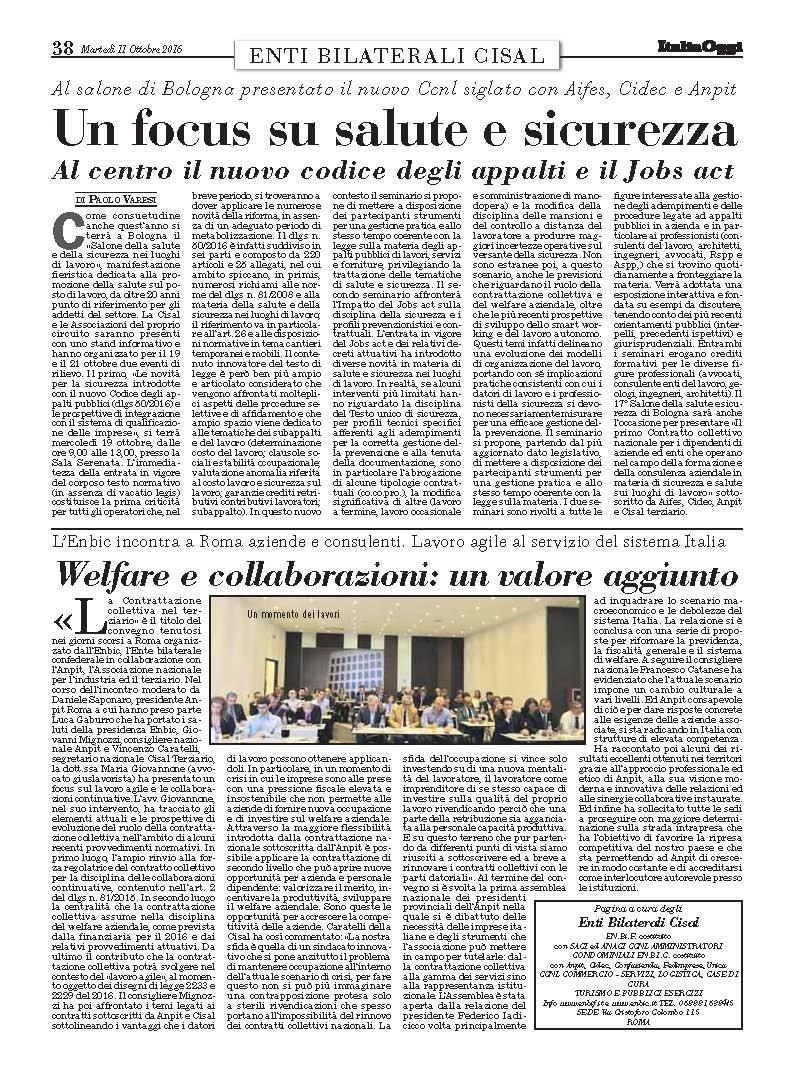Italia Oggi - 11 Ottobre 2016 39