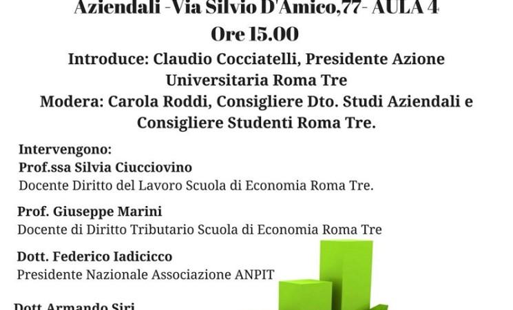 FISCALITA' NEL MONDO DEL LAVORO: IDEE E PROPOSTE PER L'ITALIA