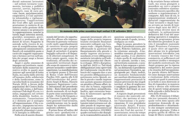 II ASSEMBLEA NAZIONALE - ITALIA OGGI