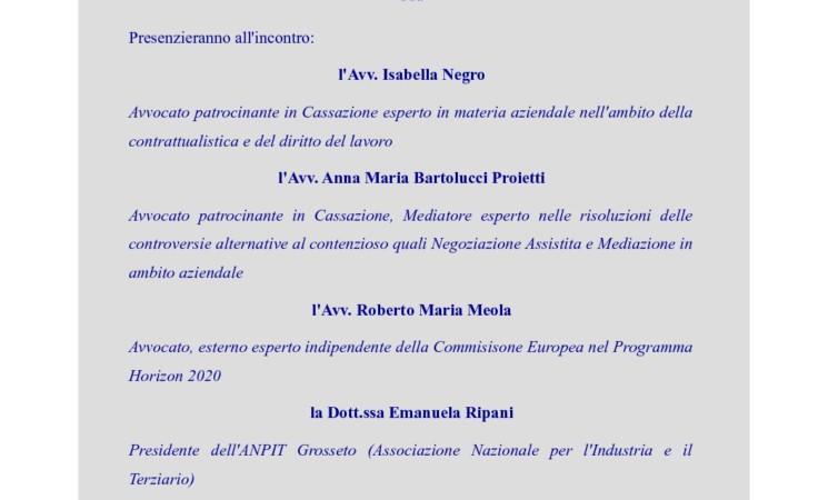 INCONTRO INFORMATIVO PER IMPRENDITORI E PROFESSIONISTI