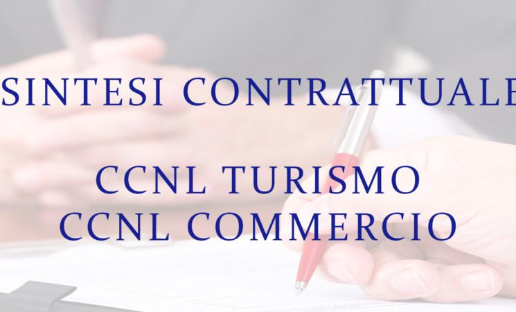 CCNL COMMERCIO E TURISMO - SINTESI CONTRATTUALI