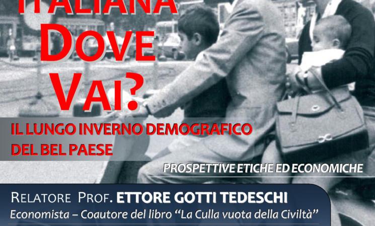FAMIGLIA ITALIANA DOVE VAI? - Intervento del Presidente iadicicco
