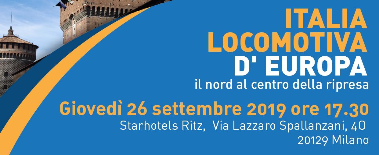 italia locomativa d'europa - 26 settembre 2019